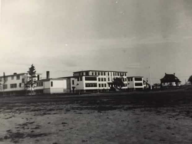 The former residential school in Norway House.