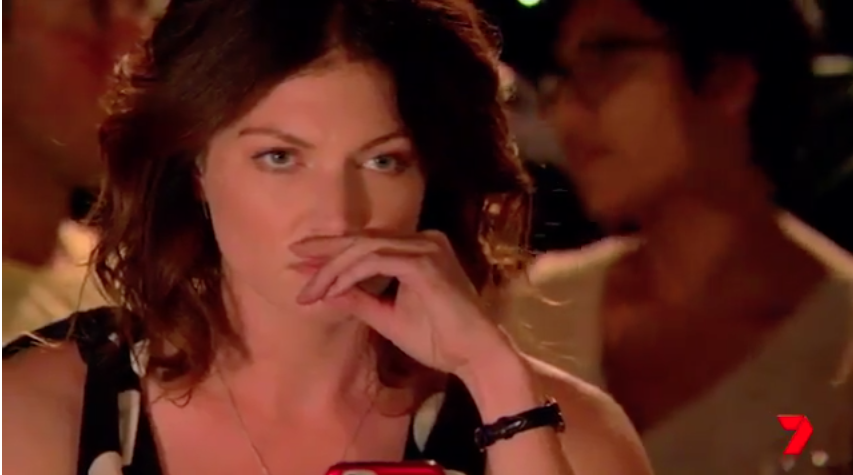 Ebony is Home and Away's newest villain and she is on a mission of revenge. Source: Seven