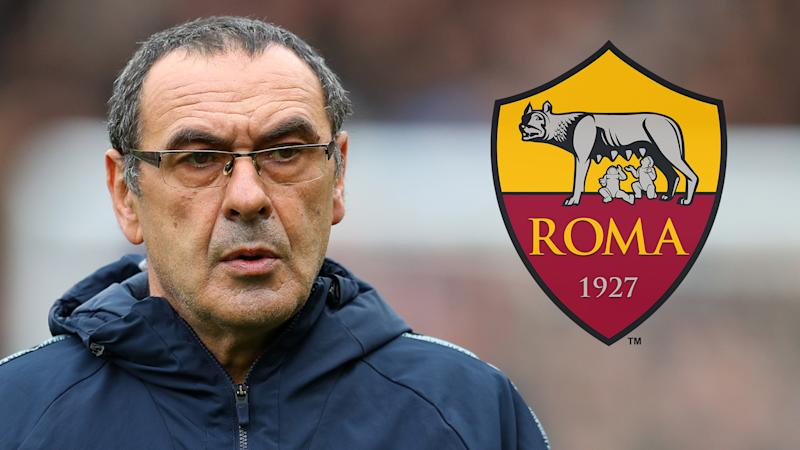 Roma to target Sarri if he gets sacked by Chelsea