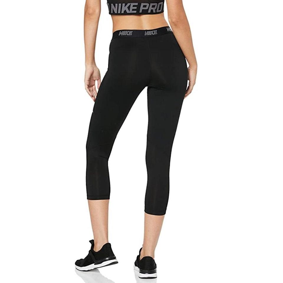 Designed with a body-hugging silhouette, these capris are ideal for high-intensity training and competing, so go ahead and enroll in that HIIT program you've been considering, and godspeed.