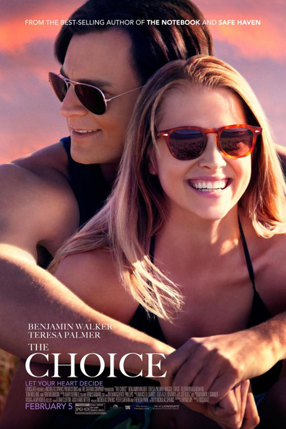 """<p>Entertainment Weekly called this Nicholas Sparks adaptation a """"predictable, recycled mess"""", and you could say the same about the poster which looks like the two actors weren't even in the same room when their photos were taken and composited together. (Credit: Lionsgate) </p>"""