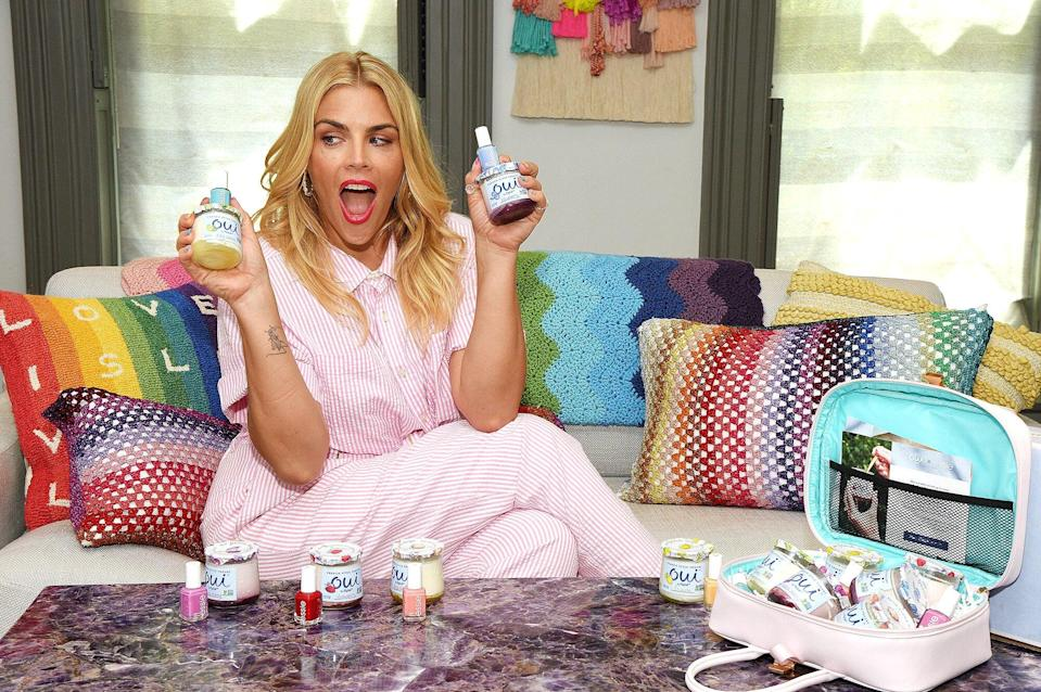 Busy Philipps at her home