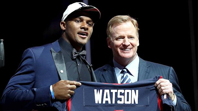 When the Texans drafted Deshaun Watson, he immediately became the favorite to win Offensive Rookie of the Year. But don't tell that to the likes of Leonard Fournette, Dalvin Cook and Christian McCaffrey.