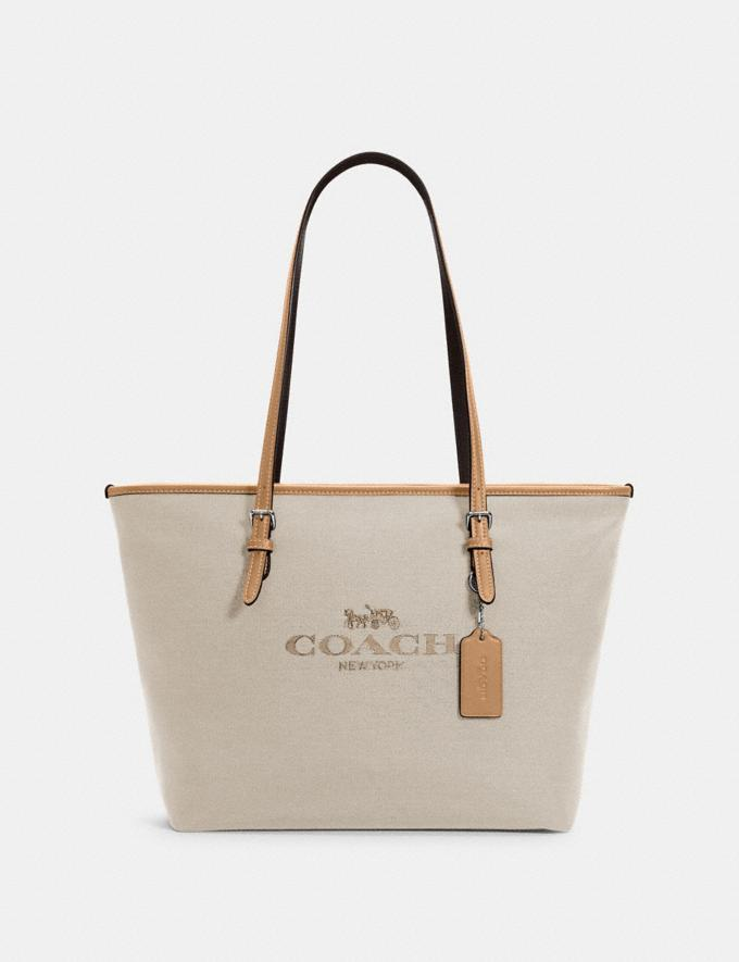 City Zip Tote. Image via Coach Outlet.