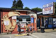 <p>Oregon is opening county by county, and each county must obtain approval from the state before opening any businesses. As of May 14, 26 counties had been approved to reopen restaurants on May 15.</p>