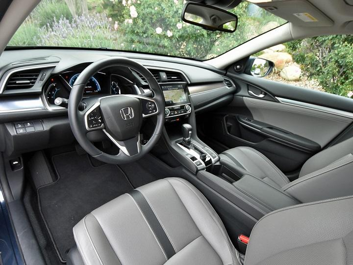 2016 Honda Civic Sedan Touring Interior Photo