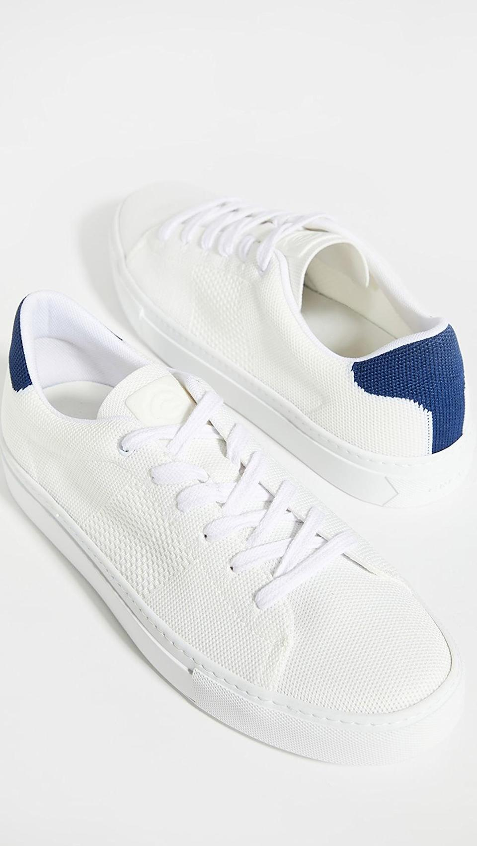 <p>These <span>Greats Royale Knit Sneakers</span> ($120) are super comfortable.</p>