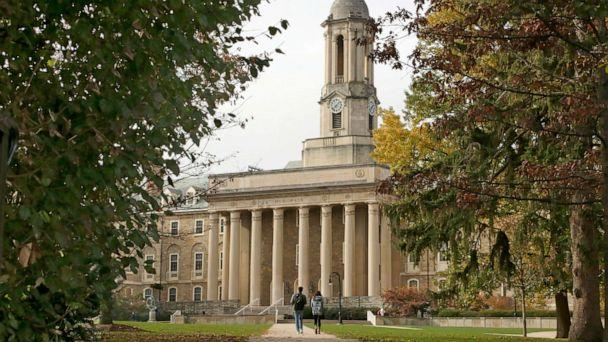 PHOTO: Old Main on the Penn State University main campus in State College, Pa., Nov. 9, 2017. (Gene J. Puskar/AP, FILE)