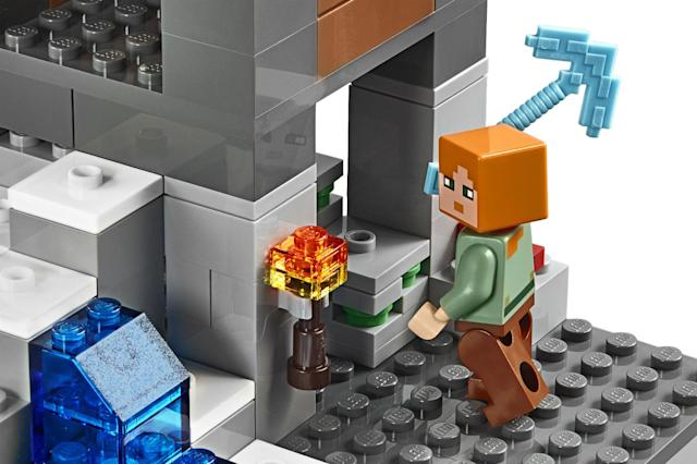 The largest Lego Minecraft set is coming to steal your time