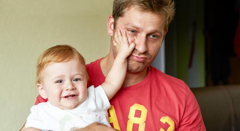 A Mumsnet user was annoyed after her partner swore at their baby. [Photo: Getty]