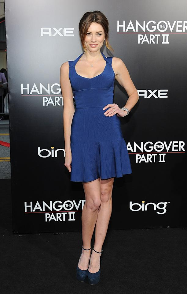 "<a href=""http://movies.yahoo.com/movie/contributor/1809907401"">Arielle Vandenberg</a> attends the Los Angeles premiere of <a href=""http://movies.yahoo.com/movie/1810187722/info"">The Hangover Part II</a> on May 19, 2011."