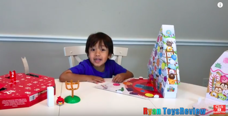 Toys For Boys Six Year : A six year old made $11 million in one year reviewing toys on youtube