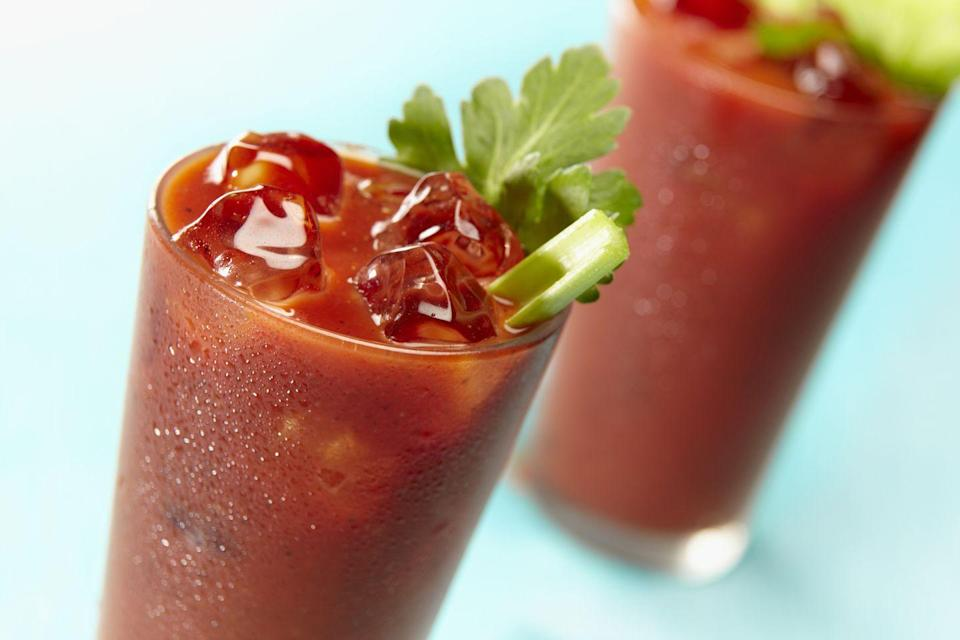 <p>The preferred drink for short-haul flights and long-haul brunches, a Bloody Mary is good for more than just easing hangovers. Researchers at China Medical University in Taiwan linked tomato juice to a reduction in body fat, while a study published in Food Science & Nutrition linked it to lower blood pressure and LDL cholesterol. Vodka isn't exactly conducive to these health benefits. But you were going to have some, anyway…</p>