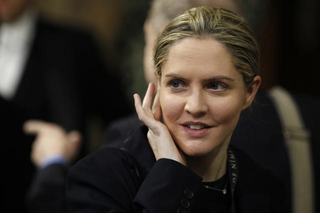 Louise Mensch, a former Conservative member of the British Parliament. (Photo: Stefan Wermuth/Reuters)