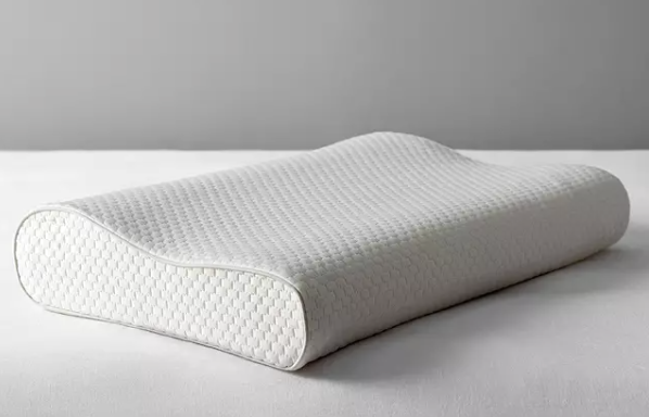 Specialist Synthetic 2-Way Memory Foam Standard Support Pillow. (John Lewis & Partners)