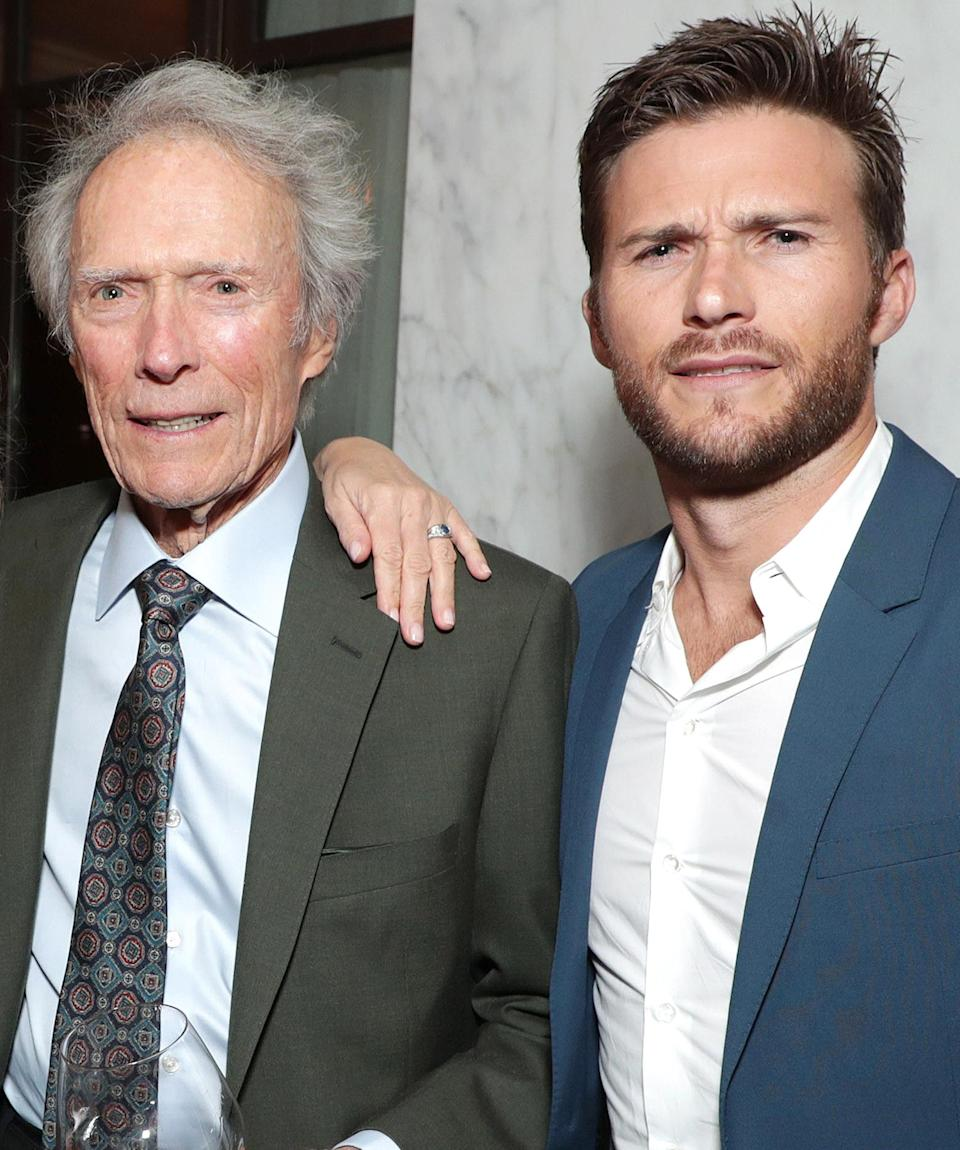 """<p><strong>""""</strong>I don't think I'm competitive. I'm happy to see him do well. I'm happy that he's working. He's doing better than I was at his age, and that's the way it should be,"""" Clint told <em><a href=""""https://www.esquire.com/entertainment/a46893/double-trouble-clint-and-scott-eastwood/"""" rel=""""nofollow noopener"""" target=""""_blank"""" data-ylk=""""slk:Esquire"""" class=""""link rapid-noclick-resp"""">Esquire</a> </em>of his<em> Wrath of Man </em>star son.</p> <p><strong>""""</strong>I couldn't be more proud of him,"""" Scott echoed in the joint interview. """"I couldn't be more inspired by the films he makes. His movies are the kinds of movies that I want to be in. I'm just a pawn in getting to work with these great directors. I'm just trying</p>"""