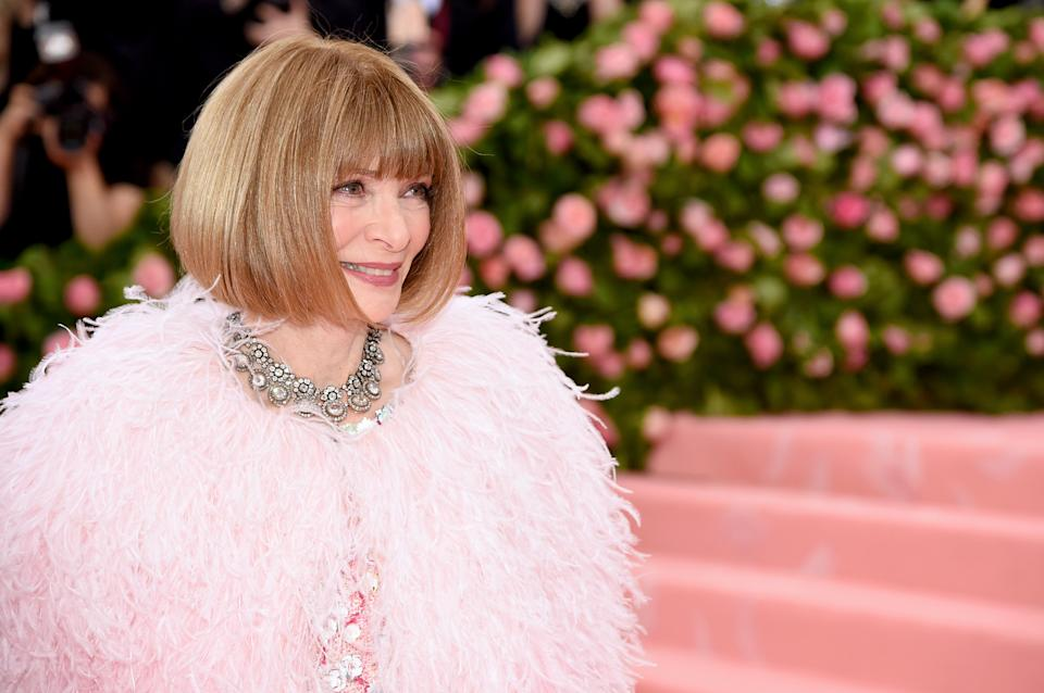 Anna Wintour at the 2019 Met Gala