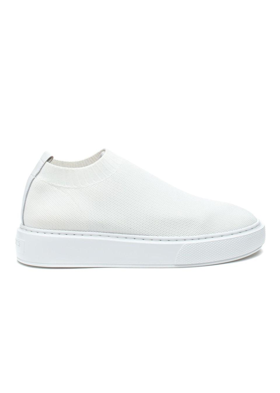 "<p><strong>J/SLIDES</strong></p><p>jslidesfootwear.com</p><p><strong>$81.75</strong></p><p><a href=""https://jslidesfootwear.com/daphnie-white-knit/"" rel=""nofollow noopener"" target=""_blank"" data-ylk=""slk:Shop Now"" class=""link rapid-noclick-resp"">Shop Now</a></p><p>A classic slip-on style that you'll be reaching for over and over again cause it's 2020 and if you're like me then you no longer believe in tying shoelaces. </p>"