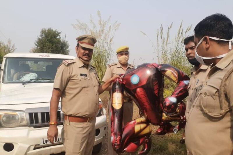 'Thought It Was an Alien': Greater Noida Residents Panic Over Iron Man Balloon in Sky