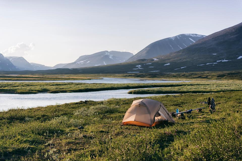 A lightweight, durable tent is a must-have for your first backpacking experience.