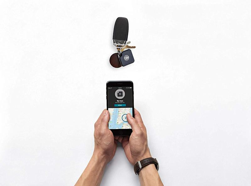 Never lose your keys again with the Tile Pro. (Photo: Amazon)