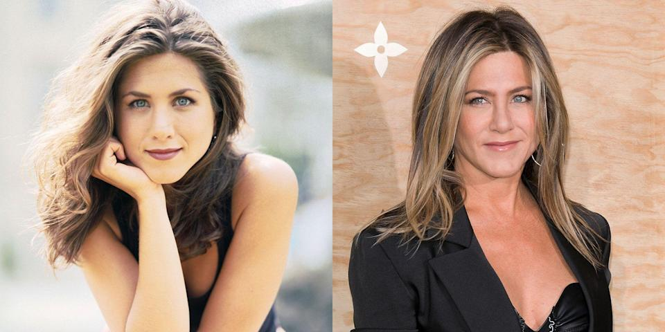 <p>Jennifer Aniston is the best friend everyone wanted growing up. The actress—who is 50, btw—got her breakout role starring as Rachel Green on the sitcom <em>Friends</em>, but she didn't stop there. </p><p>The California native has been in the spotlight ever since, acting alongside some of the biggest names in the industry, including Cameron Diaz, Adam Sandler and Gerard Butler. She's had very public breakups and won amazing awards, all while maintaining a rocking body and signature style. And Jen has looked <em>fan-tas-tic</em> doing it all. <br></p>