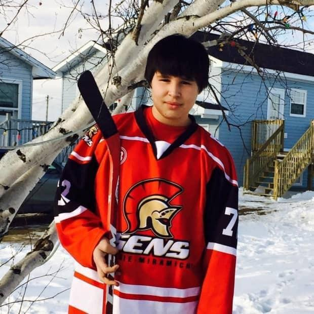 Nineteen-year-old Neil Linklater died at the scene of a head-on collision on Highway 11 on his way home in Esgenoôpetitj First Nation for the weekend. (Submitted by Jean-Claude Robichaud - image credit)