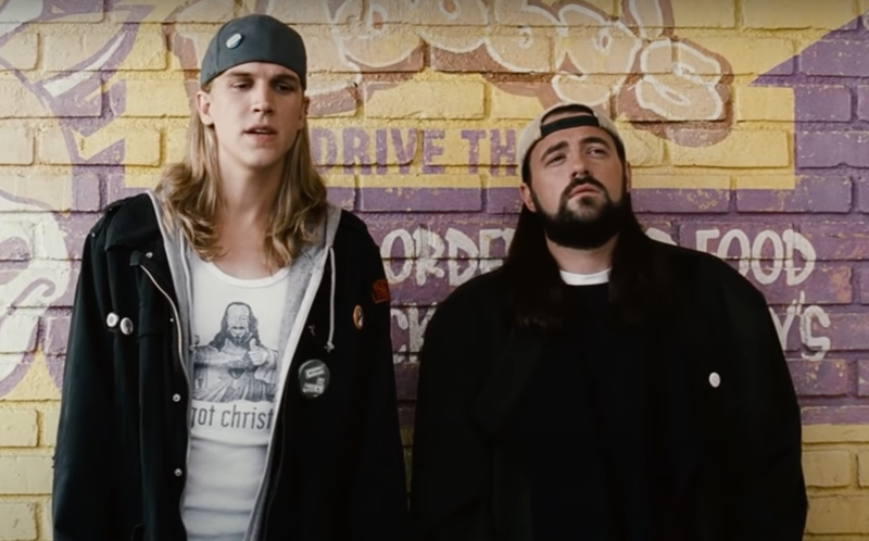 Jason Mewes and Kevin Smith in Clerks 2