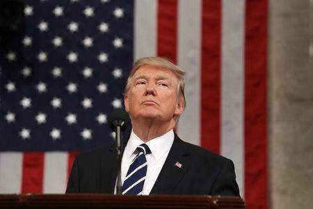 U.S. President Trump addresses Joint Session of Congress in Washington