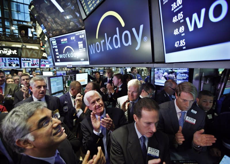 Workday third-quarter profit, revenue beat; shares rise