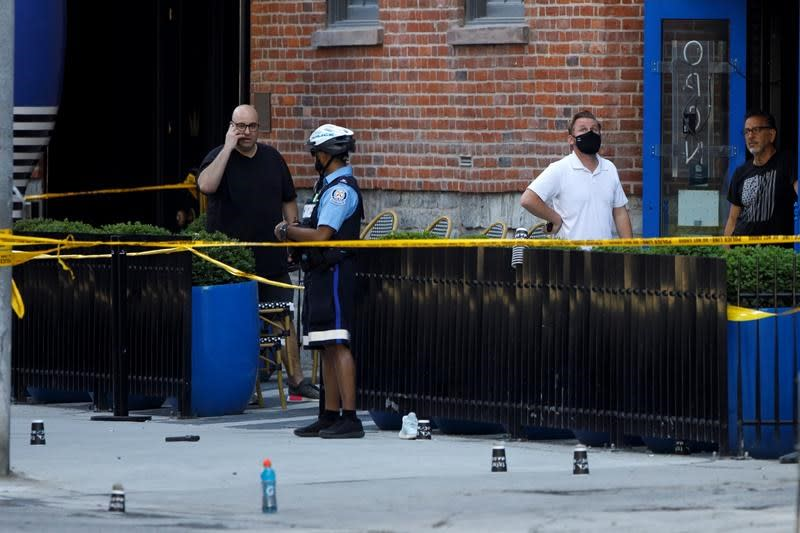 One dead, boy and woman wounded in downtown Toronto shooting: police