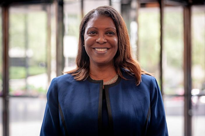 """Letitia James, the public advocate in New York City and a candidate for attorney general in New York, plans to reform the criminal justice system. (Photo: David """"Dee"""" Delgado for Yahoo News)"""