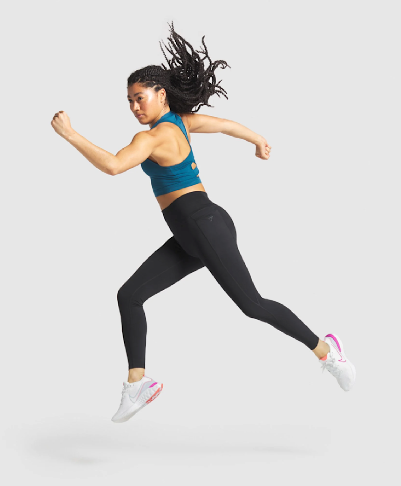 """<p><a class=""""body-btn-link"""" href=""""https://go.redirectingat.com?id=127X1599956&url=https%3A%2F%2Fuk.gymshark.com%2Fproducts%2Fgymshark-speed-womens-leggings-black&sref=https%3A%2F%2Fwww.runnersworld.com%2Fuk%2Fgear%2Fclothes%2Fg34284784%2Fgymshark-running%2F"""" target=""""_blank"""">Buy now, £40  </a></p><p>With leg pockets for your phone and keys, these high-waisted running leggings are designed for maximum comfort. </p>"""