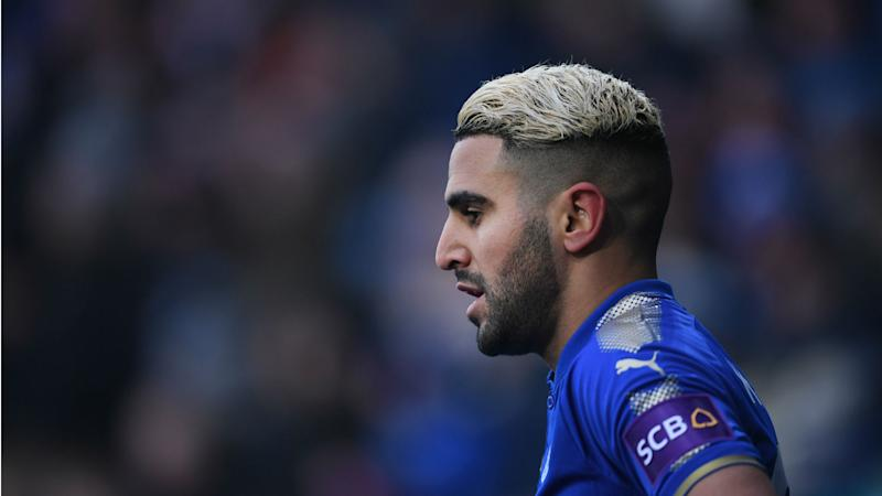 Mahrez account was hacked, Leicester confirm