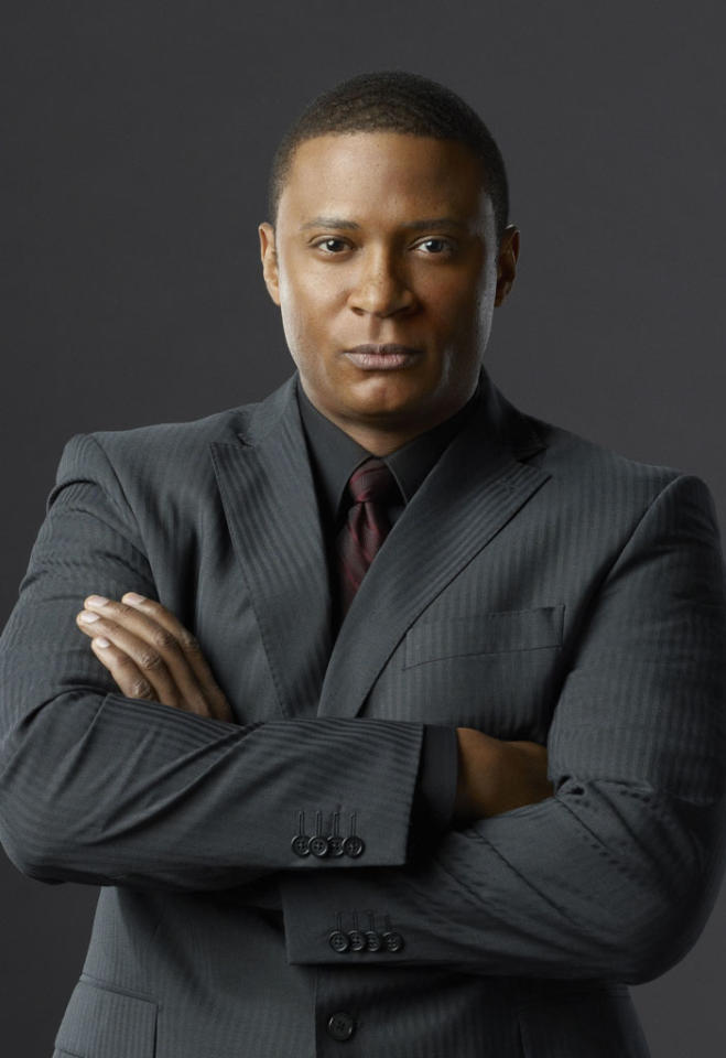 "David Ramsey as Diggle in ""Arrow"" on The CW."