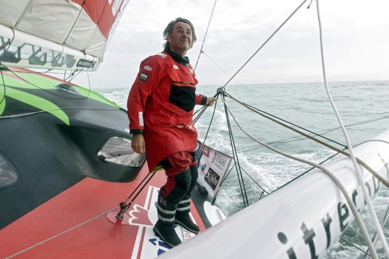 French skipper Yannick Bestaven was taking part in the race for a second time