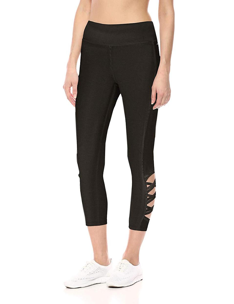 "<h3><a href=""https://www.amazon.com/Jockey-Womens-Weave-Capri-combo-54900/dp/B07HSL2TGP"" rel=""nofollow noopener"" target=""_blank"" data-ylk=""slk:Weave Capri"" class=""link rapid-noclick-resp"">Weave Capri</a> </h3><br><br>Not enough reviews<br><br><strong>Jockey</strong> Weave Capri, $, available at <a href=""https://www.amazon.com/Jockey-Womens-Weave-Capri-combo-54900/dp/B07HSL2TGP?th=1&psc=1"" rel=""nofollow noopener"" target=""_blank"" data-ylk=""slk:Amazon"" class=""link rapid-noclick-resp"">Amazon</a>"