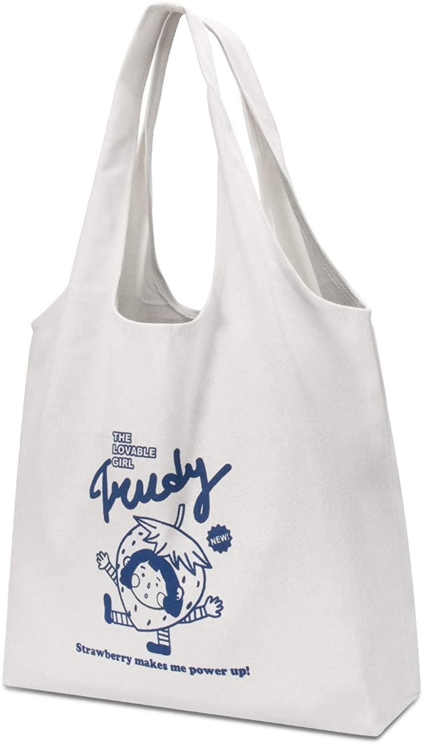 <p>If this <span>CGBE Canvas Tote Bag</span> ($10) gets dirty, just toss it in the wash!</p>