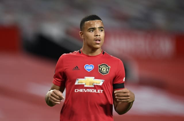 Mason Greenwood was not included in Boothroyd's squad