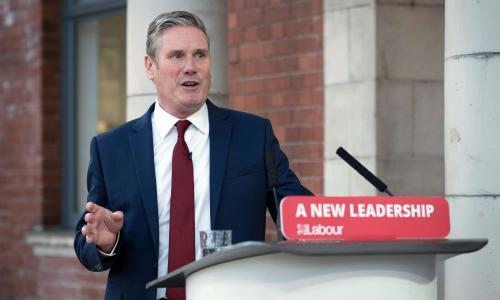 Keir Starmer tells Labour conference: we deserved to lose election