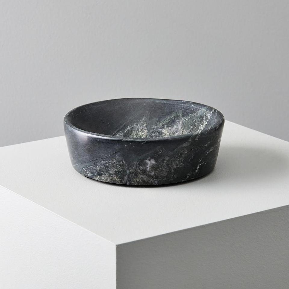 <p>This <span>Foundations Marble Bowl</span> ($30) doubles as a decorative object.</p>