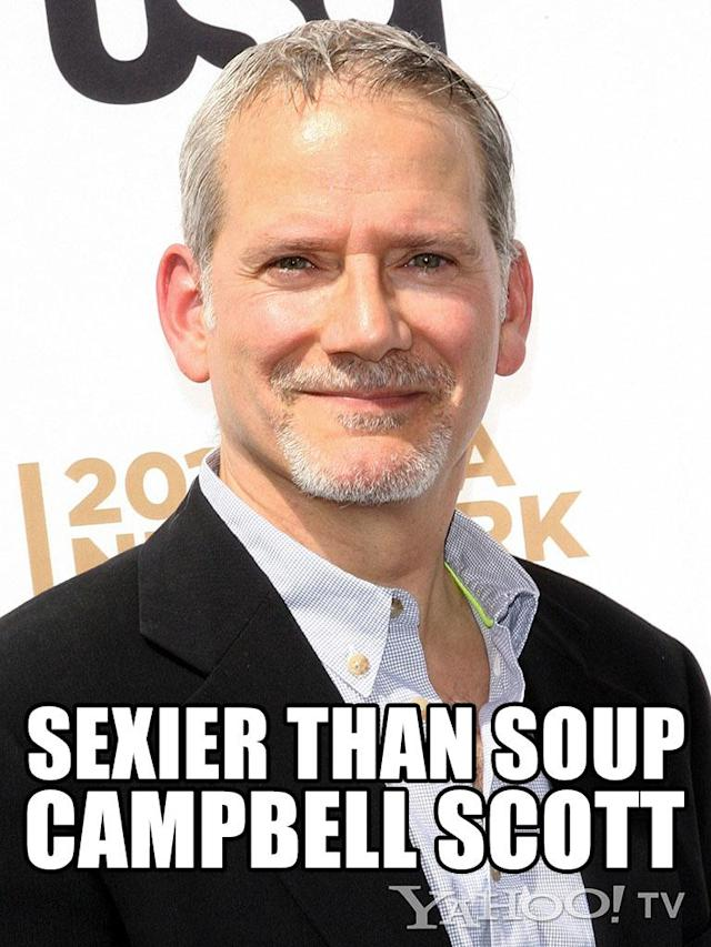 "<strong>Campbell Scott<br><br></strong>And the John Cusack Award for Utter and Total Likability and Sex Appeal and Sweet Shyness as Displayed in ""Singles"" / Would Rescue a Kitten Out of a Tree and Bring Flowers to a Girl for No Reason with Great Frequency / Dramatic and Comic Depth in All Interactions goes to Campbell Scott. This ""<a href=""http://tv.yahoo.com/shows/royal-pains/"" data-ylk=""slk:Royal Pains"" class=""link rapid-noclick-resp"">Royal Pains</a>"" regular would actually listen to your aunt tell her story about bad breakfast at a B&B in northern Vermont for the 50th time … and enjoy it. Do we know this for a fact? No. But we feel it, in our heart."