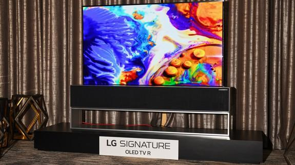 3fa19aef1aef LG's mind-bending rollable TV is real, and it goes on sale later this year