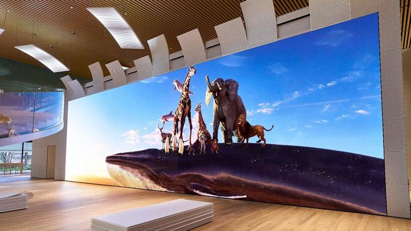 Sony unveils giant 785in 16K display