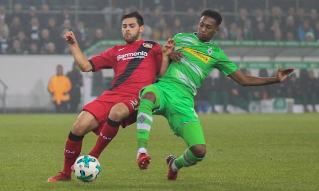 Reece Oxford has made three appearances in the Bundesliga for Borussia Mönchengladbach since signing on a season-long loan from West Ham.