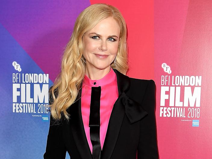 """Nicole Kidman says she will """"pretty much eat anything."""""""
