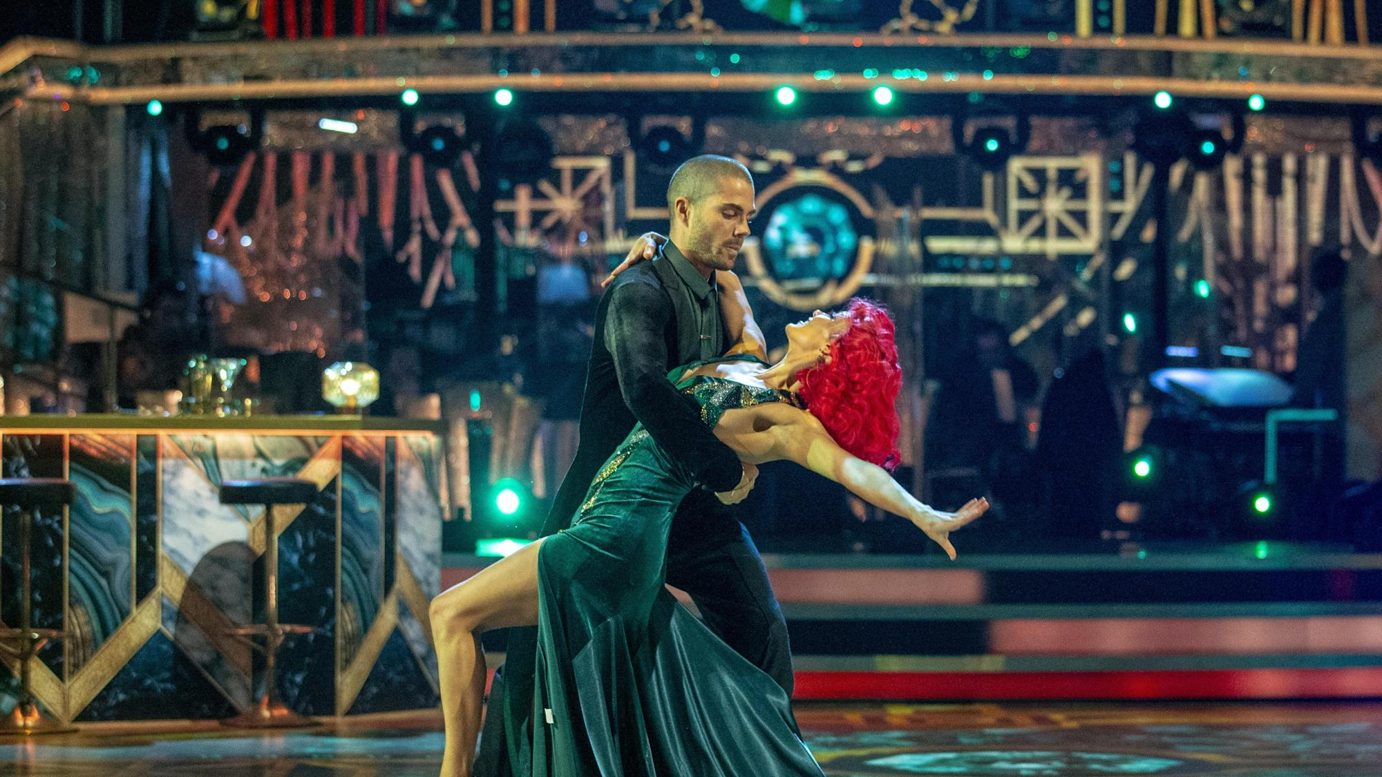 Max George apologises for sweary Strictly Come Dancing celebration