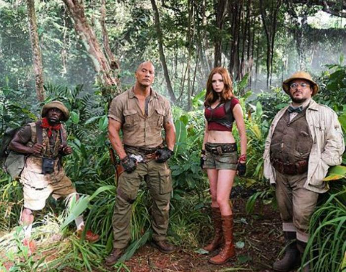 The Rock Is Looking Buff AF In This First 'Jumanji' Set Photo