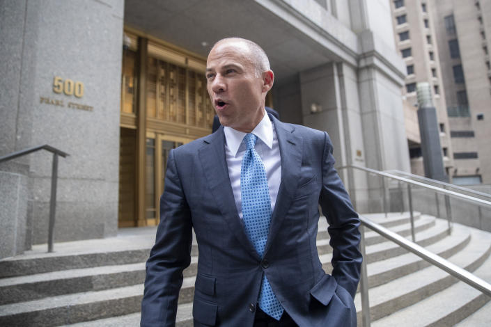 Michael Avenatti is due in court on Jan. 21, but that is now in jeopardy after his arrest in California. (AP)