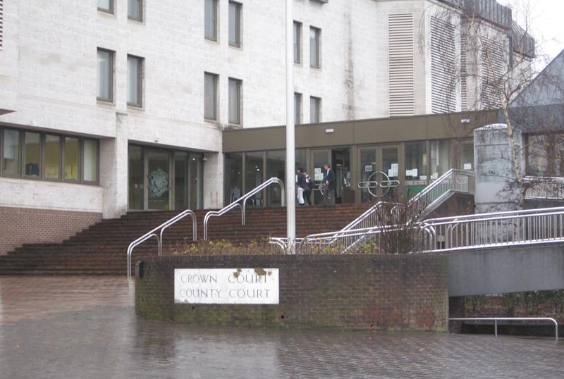 General view of Maidstone Crown Court.